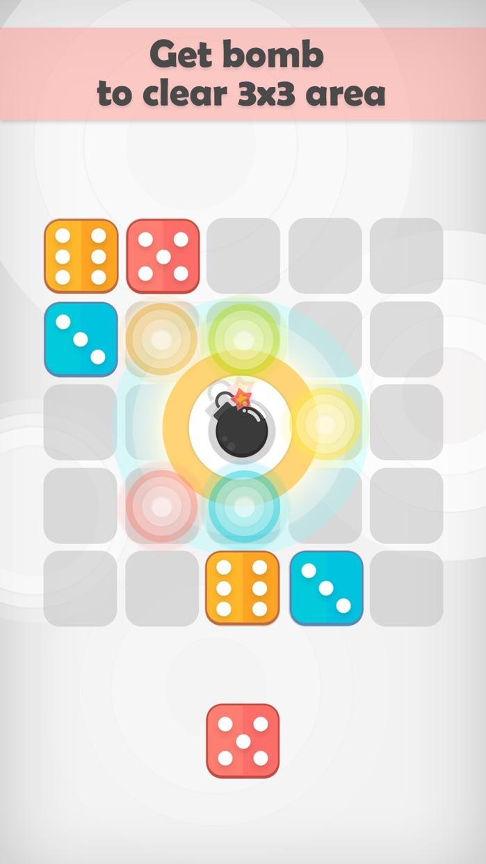 Dice Bomb - Merge Block Puzzle Game Screenshot