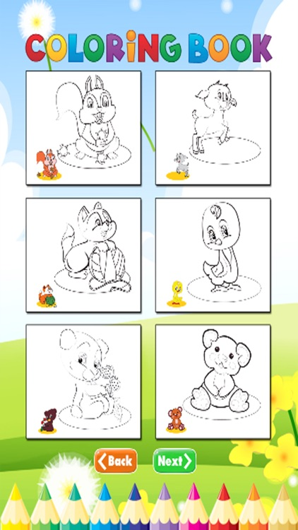Dog and Friends coloring book - for kid screenshot-3
