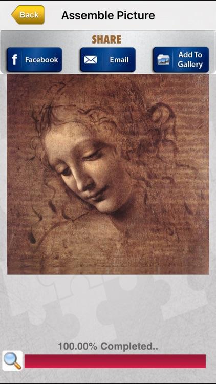 Leonardo Jigsaw screenshot-4