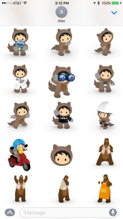 Salesforce Stickers