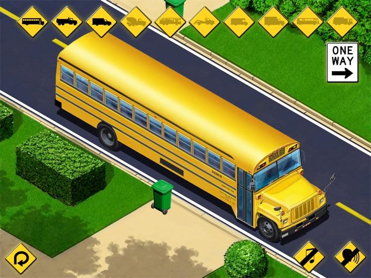 Kids Vehicles: City Trucks & Buses HD Lite