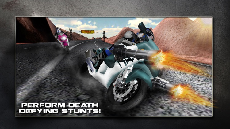 Super Motor Bike Shooter Traffic Race 3D