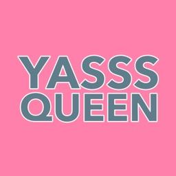 Yasss Queen Sticker Pack