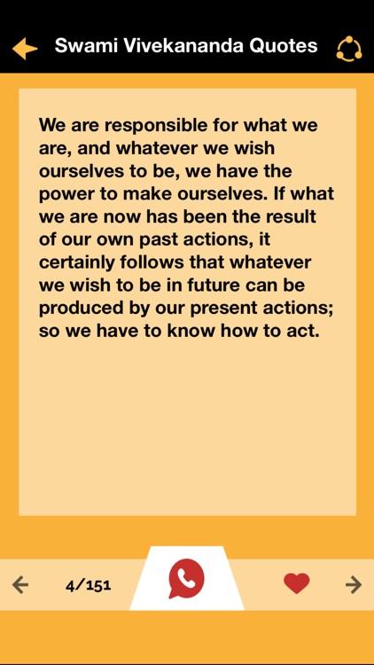 Swami Vivekananda Motivational Quotes & biography screenshot-3
