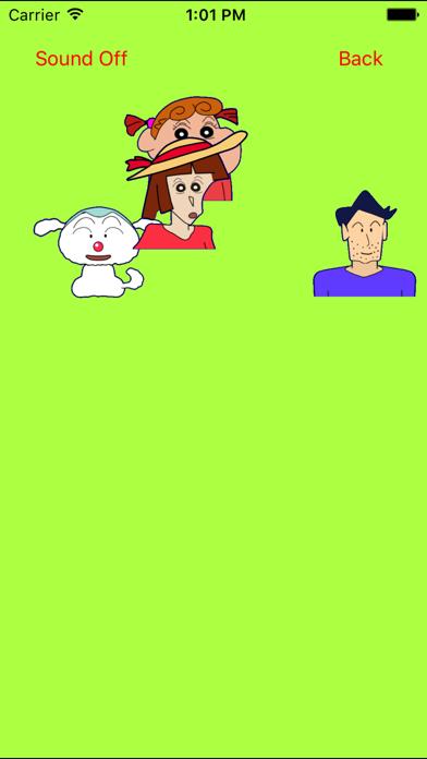 キャラメーカー for クレヨンしんちゃんのスクリーンショット3