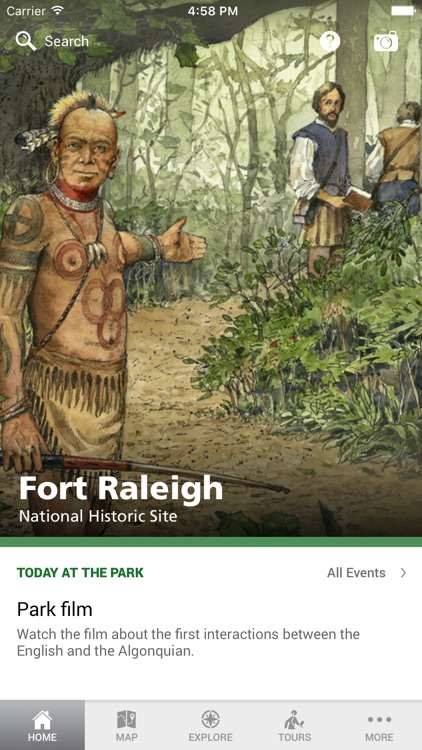 NPS Fort Raleigh National Historic Site screenshot-0