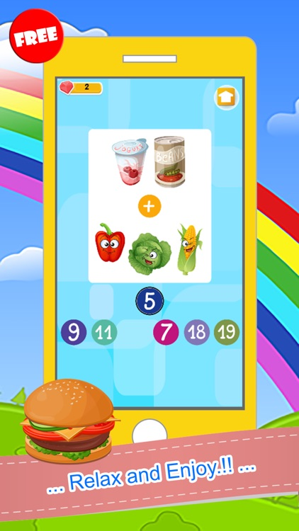 Counting Addition And Subtraction Games For Kids screenshot-3