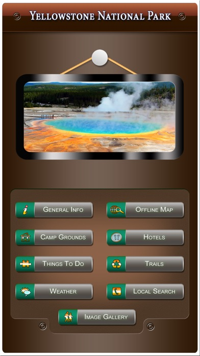 Yellowstone National Park review screenshots