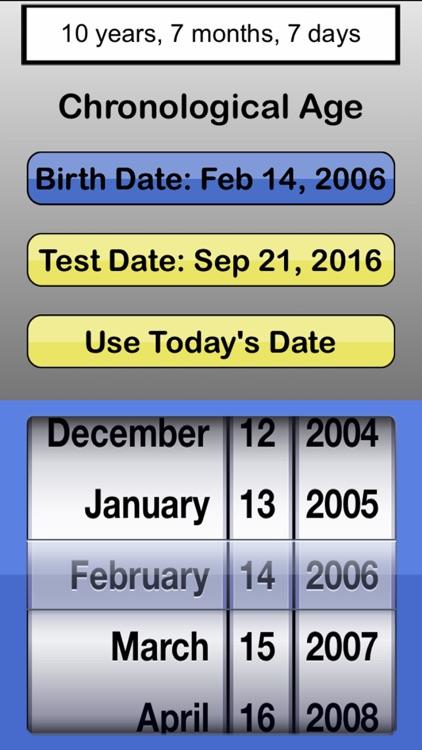 #1 Chronological Age Calculator - Free
