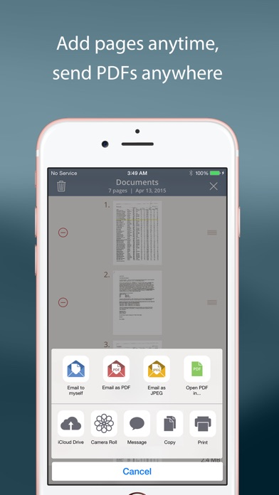 TurboScan: quickly scan multipage documents into high-quality PDFs Screenshot 4