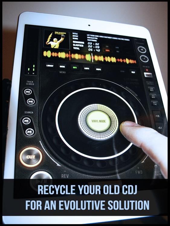 EDJ FREE CDJ Scratch Turntable