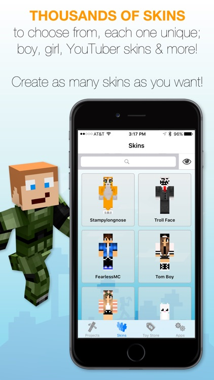 Best Skins Creator Pro - for Minecraft PE & PC