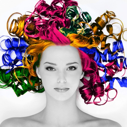 Hair Styler - Change Hair Color & Recolor Effects
