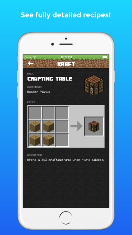 Kraft - Crafting Guide and Recipes for PC - Pocket