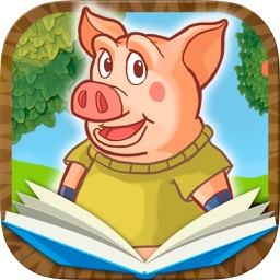 Three Little Pigs Classic tales - interactive book