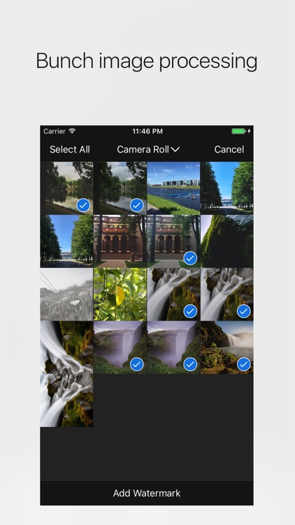 StampIt - add watermark and copyright to photos