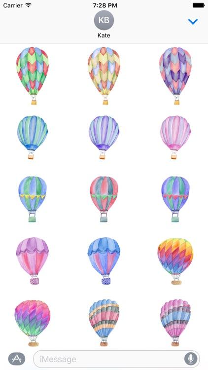 Hot Air Balloon Pack