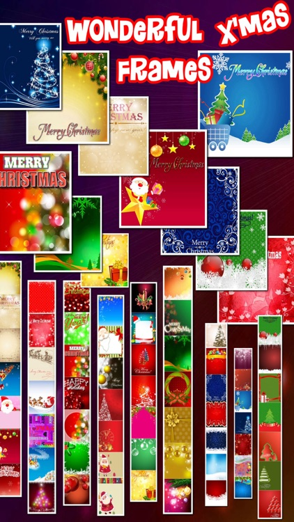 Lovely Christmas Frames Pro screenshot-4