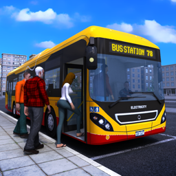 Ícone do app Bus Simulator PRO 2017