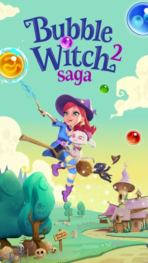 bubble witch 2 saga on the app store. Black Bedroom Furniture Sets. Home Design Ideas