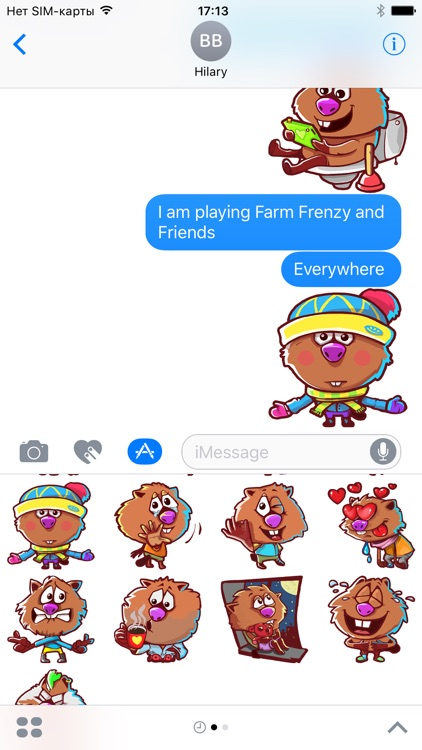 Farm Frenzy Stickers