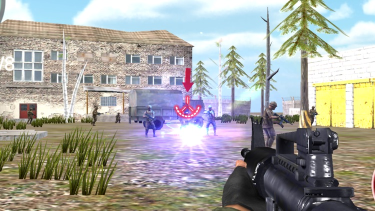 Commando Battle Sniper Shooting - Frontline Pro screenshot-1
