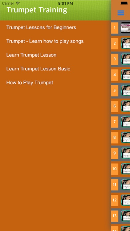 Trumpet Learning - Learn Play Trumpet With Videos screenshot-3
