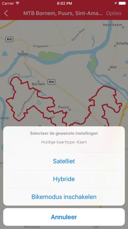 Bikeroutes.be - Mountainbike routes in Vlaanderen screenshot-3