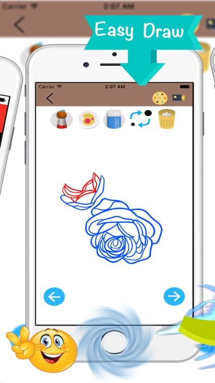 How To Draw a Flower screenshot-3