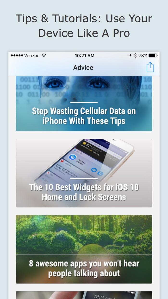 AppAdvice Screenshot