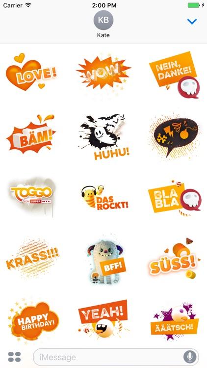 TOGGO Sticker