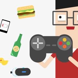 GeekStickers - Super Fun Stickers for Geeks