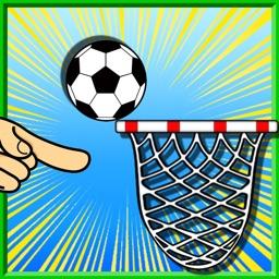 Free kick basket