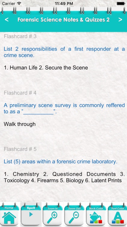 Forensic Science Practice Test 3300 Quiz Notes By Fathia Najar