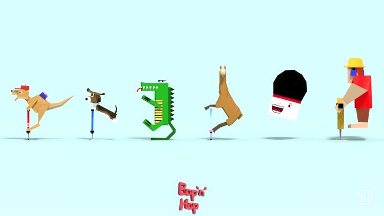 Bop 'n' Hop - Endless Arcade Pogo Hopper screenshot-3