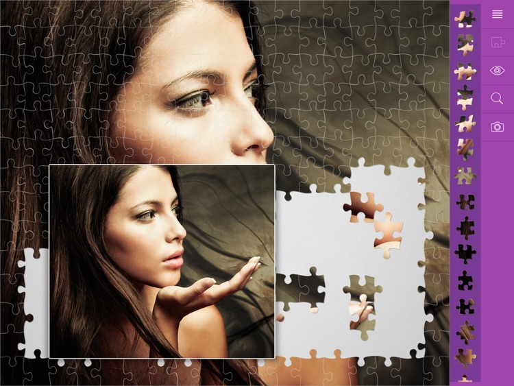 Jigsaw Puzzles Mysterious Girl