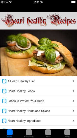 Free recipes heart healthy recipes on the app store screenshots forumfinder Image collections