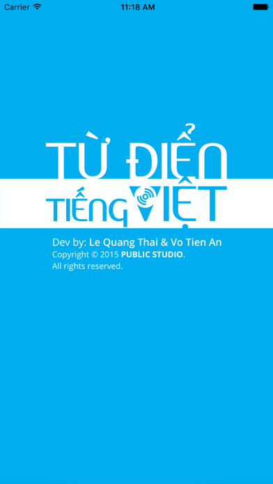 Từ Điển Tiếng Việt screenshot one