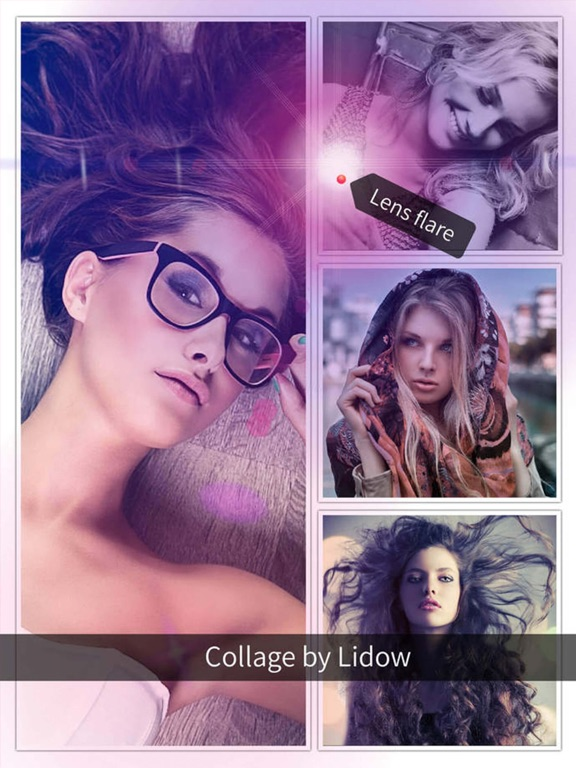Lidow -  Powerful Blur Splash Grad Mirror and Square Filter  Photo Editor screenshot