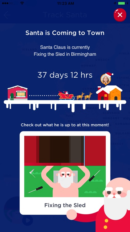 Santa Tracker - Where is Santa Claus? screenshot-3