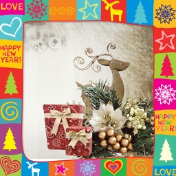 Xmas HD Photo Frame - Picture art