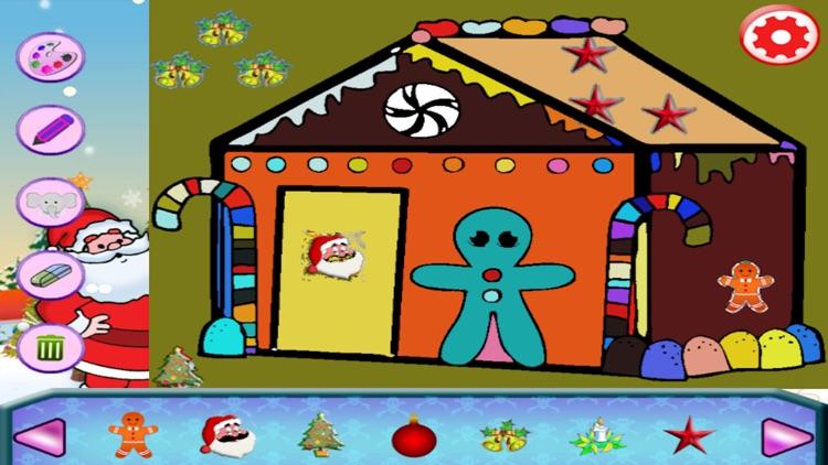 Christmas Drawing Coloring Book