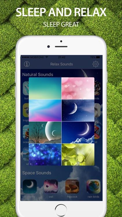 Sleep Sounds: Melodies of life, relax sounds screenshot-4