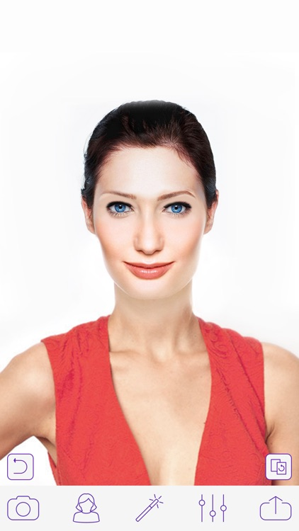 Glitter Makeup Camera - Glamour Makeup Effect