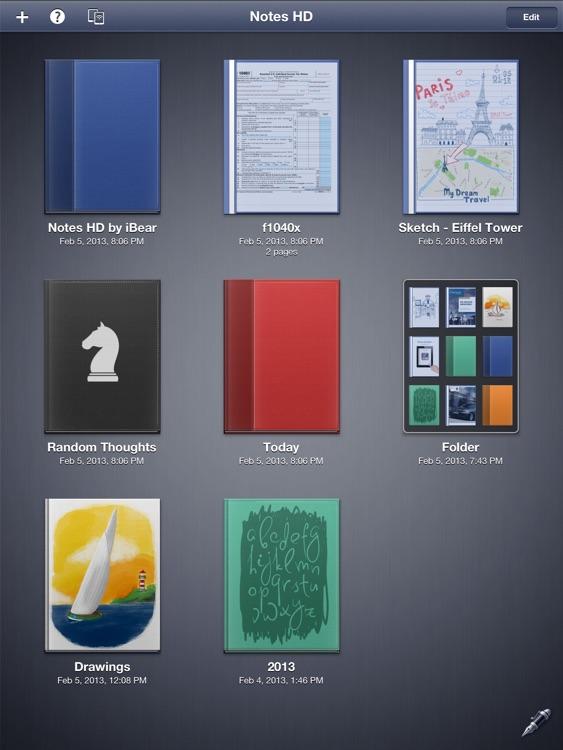 Notes HD: Notes, Drawings screenshot-4