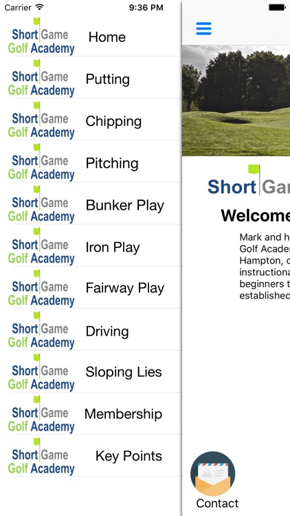 Short Game Golf Academy