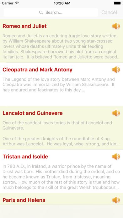 Audio Love Story Classic Romantic OfflineScreenshot of 1