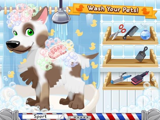 Sunnyville Pet Salon на iPad