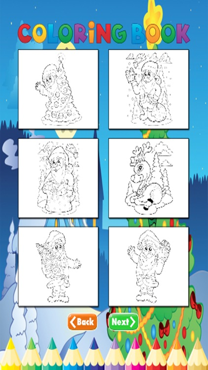 Christmas Coloring Book - for Kids screenshot-3