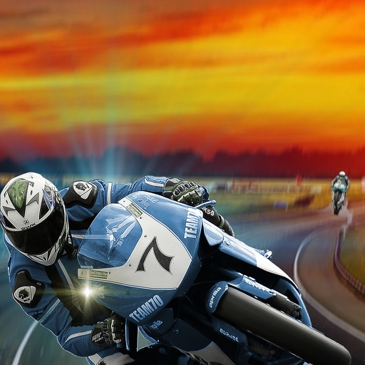 Super Race Motorcycle On Highway - Adrenaline At The Limit